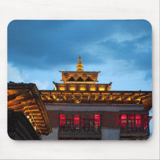 Alfombrilla De Ratón Tejado budista de Dzong