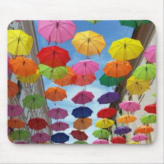 Alfombrilla De Ratón Tejado de paraguas