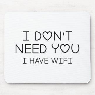 Alfombrilla De Ratón Tengo Wifi
