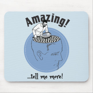 Alfombrilla De Ratón Terapeuta, cerebros humanos del estudio del