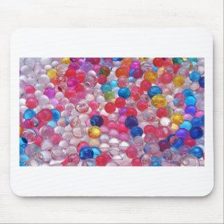 Alfombrilla De Ratón textura de las bolas de la jalea del colore