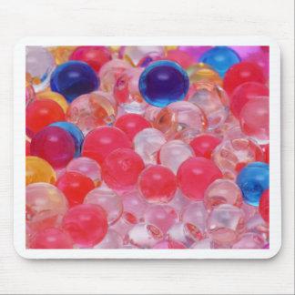 Alfombrilla De Ratón textura de las bolas del agua