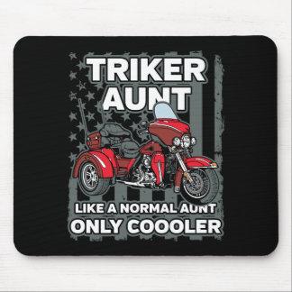 Alfombrilla De Ratón Tía de Triker de la motocicleta