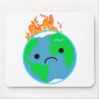 Alfombrilla De Ratón Tierra en el fuego