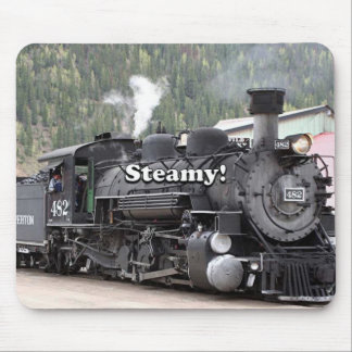 Alfombrilla De Ratón Tórrido!: motor del tren del vapor, Colorado, los