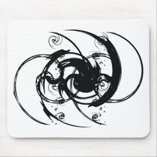 Alfombrilla De Ratón Torsión abstracta