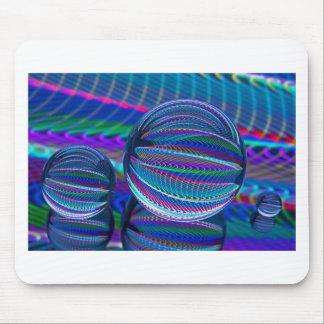 Alfombrilla De Ratón Tres bolas de cristal en color