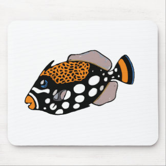 Alfombrilla De Ratón Triggerfish del payaso