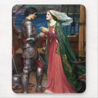 Alfombrilla De Ratón Tristan e Isolda con la poción