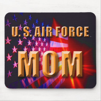 Alfombrilla De Ratón U.S. Mamá Mousepad de la fuerza aérea