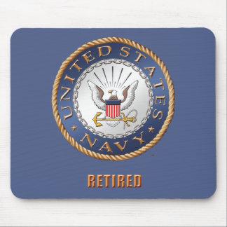 Alfombrilla De Ratón U.S. Mousepad jubilado marina de guerra
