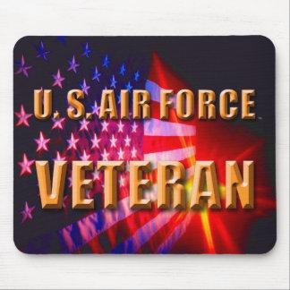 Alfombrilla De Ratón U.S. veterano Mousepad de la fuerza aérea