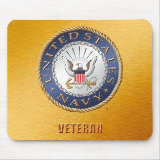 Alfombrilla De Ratón U.S. Veterano Mousepad de la marina de guerra