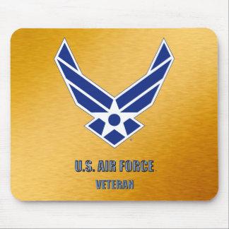 Alfombrilla De Ratón U.S. Veterinario Mousepad de la fuerza aérea