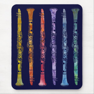 Alfombrilla De Ratón Un arco iris de Clarinets