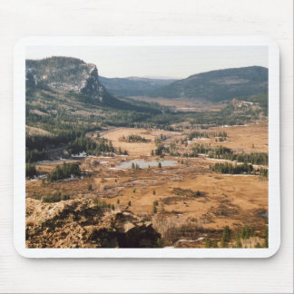 Alfombrilla De Ratón Un valle hermoso