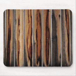 Alfombrilla De Ratón Único fresco de la textura de madera de la cerca