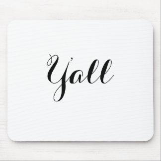 Alfombrilla De Ratón Usted tipografía