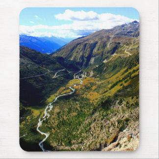 Alfombrilla De Ratón Valle en Suiza