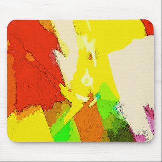 Alfombrilla De Ratón Verano - diseño moderno colorido abstracto
