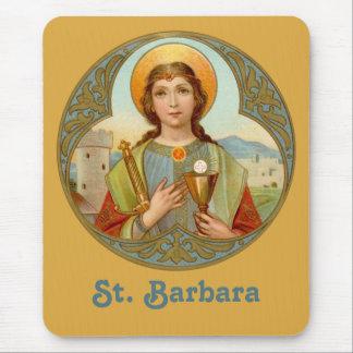 Alfombrilla De Ratón Vertical del St. Barbara (BK 001)