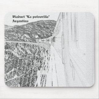 """Alfombrilla De Ratón Viaduct """"La polvorilla"""" (Pencil design)"""