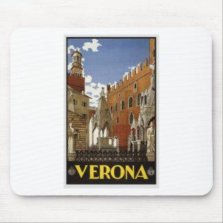 Alfombrilla De Ratón Viaje de Verona del vintage