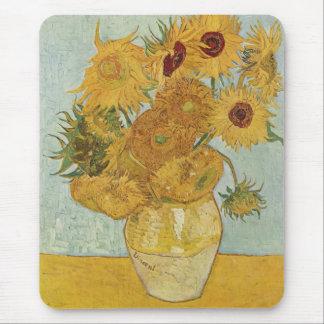 Alfombrilla De Ratón Vincent van Gogh - girasoles