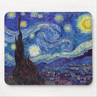 Alfombrilla De Ratón VINCENT VAN GOGH - noche estrellada 1889