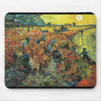 Alfombrilla De Ratón Vincent Willem van Gogh, The Red Vineyard