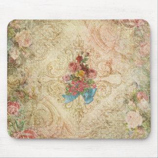 Alfombrilla De Ratón Vintage lamentable Mousepad floral