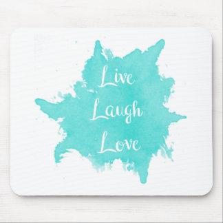 Alfombrilla De Ratón Vive el amor de la risa