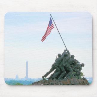 Alfombrilla De Ratón Washington DC del monumento de Iwo Jima