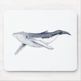 Alfombrilla De Ratón whale baby fond transparent