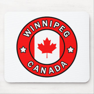 Alfombrilla De Ratón Winnipeg Canadá