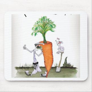 Alfombrilla De Ratón Zanahorias grandes de Yorkshire del amor