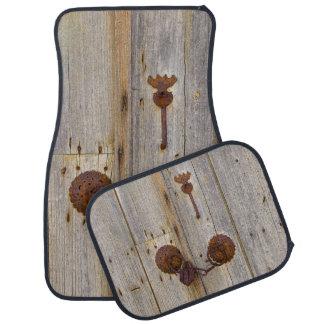 Alfombrilla Para Coche Candado viejo del hierro del vintage oxidado en