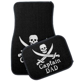 Alfombrilla Para Coche Capitán Dad - obra clásica