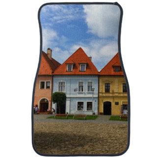 Alfombrilla Para Coche Casas de ciudad viejas en Bardejov, Eslovaquia