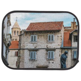 Alfombrilla Para Coche Ciudad vieja, fractura, Croacia