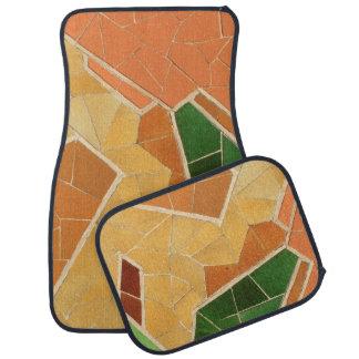 Alfombrilla Para Coche Decoración del mosaico