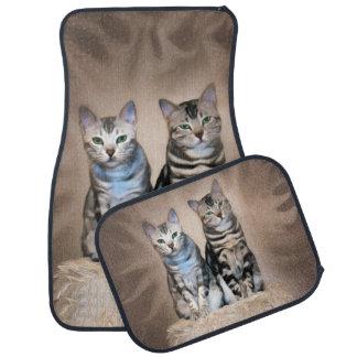 Alfombrilla Para Coche El resplandor del Meowbles de plata