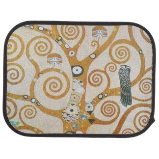 Alfombrilla Para Coche Gustavo Klimt el árbol del arte Nouveau de la vida