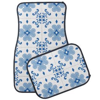 Alfombrilla Para Coche Modelo de la teja de Azulejo del portugués del