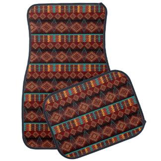Alfombrilla Para Coche modelo tribal del navaio étnico al sudoeste