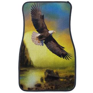 Alfombrilla Para Coche Pájaro nacional de la elevación de América Eagle
