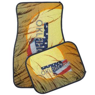 Alfombrilla Para Coche Patriota de Oklahoma de la CAMISETA