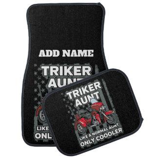 Alfombrilla Para Coche Tía de Triker de la motocicleta