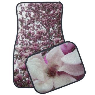 Alfombrillas de auto - floración de la magnolia de