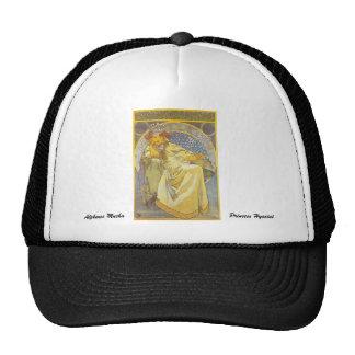 Alfonso Mucha - princesa Hyacint Hat Gorro